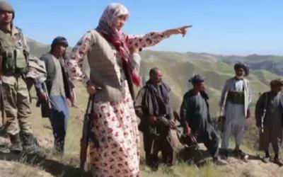 زنان در میدان جنگ با هراس افکنان؛ سلیمه مزاری نخستین ولسوال زن در جنگ با طالبان
