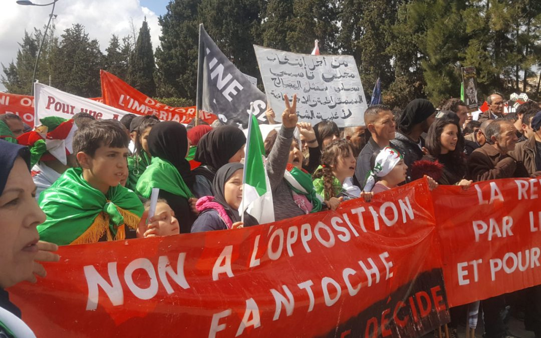 """Algeria in revolt: """"We woke up and you will pay!"""""""