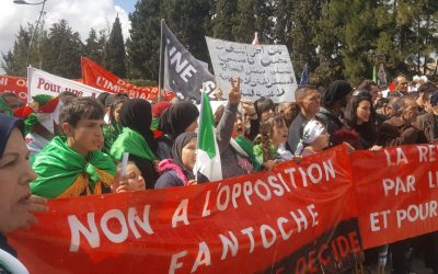"Algeria in revolt: ""We woke up and you will pay!"""