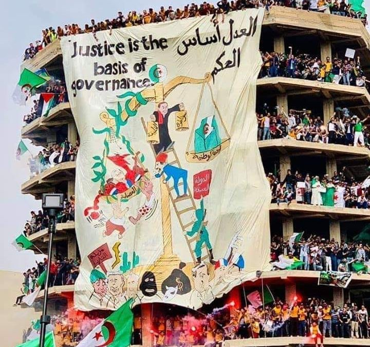 Welcome to the new Algerian revolution: an interview with Hamza Hamouchene