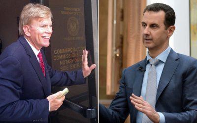 Assad's White Supremacist Supporters