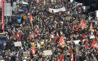 Labor Protests Growing Around the World