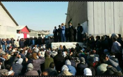 Iran's Haft Tappeh workers threaten to take over management of sugar cane complex