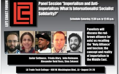 Imperialism, Anti-Imperialism:  What is Internationalist Socialist Solidarity?