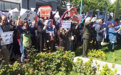 گزارشی از تظاهرات روز جهانی کارگر در تهران که به خشونت کشیده شد