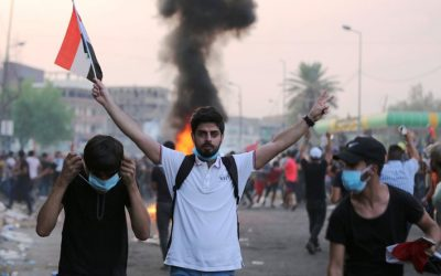 Protest movements in Iraq in the age of a 'new civil society'