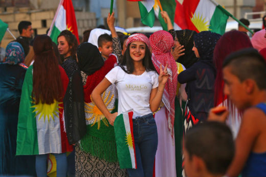 Iraq Kurdish Independence Faces Threats from Outside and Contradictions from Within