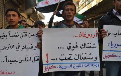 همبستگی با عفرین، غوطه، و ادلب علیه  کلیه حملات  نظامی