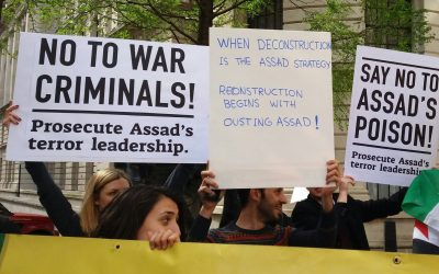 Alliance of Syrian & Iranian Socialists' Statement on Assad's Chemical Bombing & Trump's  Latest Airstrikes
