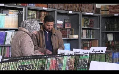 Creating a Public Library in Daraa Despite Assad Regime Bombs